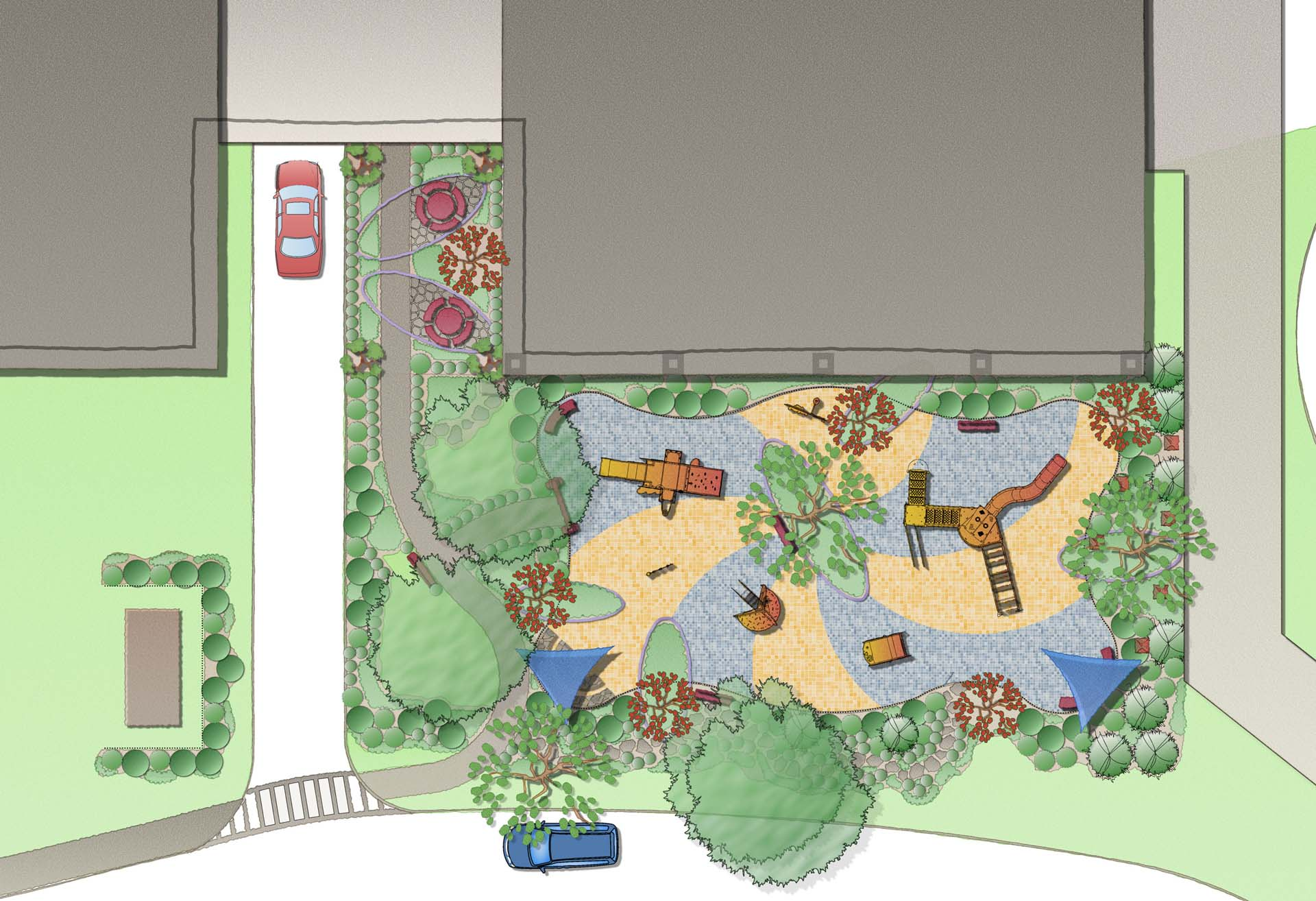 Playground Design Sean Jancski Landscape Architects